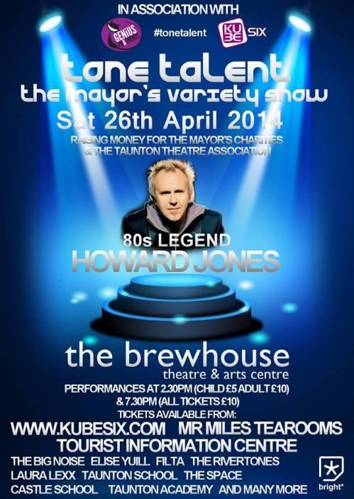 Tone Talent 26th April 2014